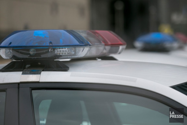Pour le moment, la police de Brockville ne... (Photothèque La Presse)