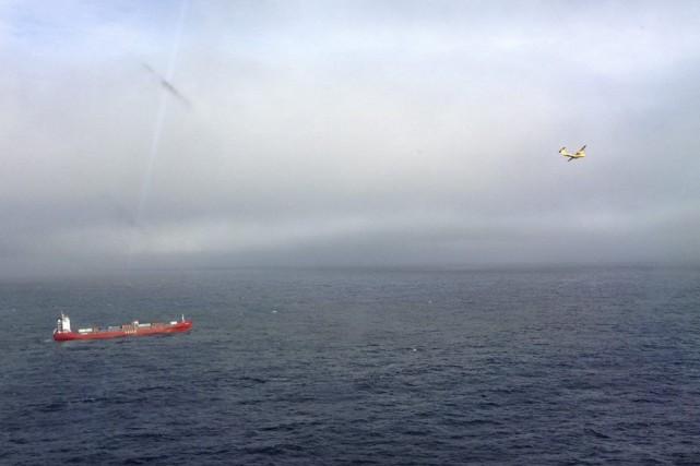 Le Simushir, d'une longueur de 135 mètres, transporte... (Photo PC)