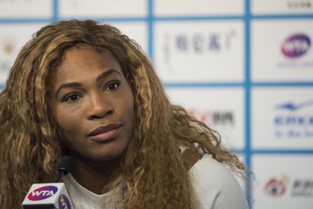 Serena Williamsa remporté les Internationaux des États-Unis cette... (PHOTO FRED DUFOUR, AFP)