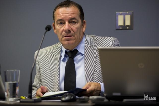 Le directeur général de Saint-Lambert, François Vaillancourt, a... (Photo André Pichette, archives La Presse)