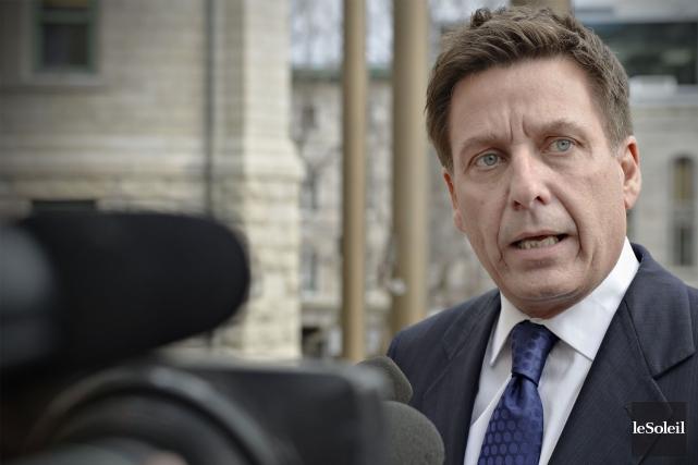 Le ministre Pierre Moreau... (Photothèque Le Soleil)