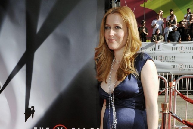 Gillian Anderson... (Photo Archives AP)