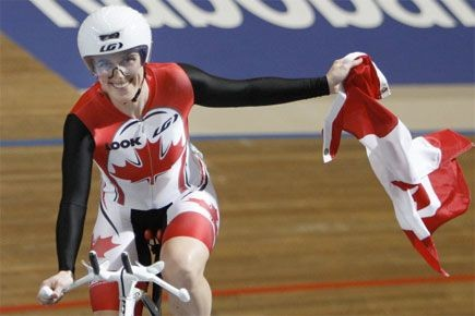 Le cyclisme sur piste est une discipline olympique... (Archives, Associated Press)