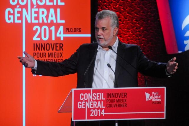 Le gouvernement ne reculera pas devant les vents contraires et mènera à terme... (François Gervais)