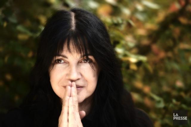 Carole Laure, réalisatrice du film Love Projet.... (Photo: Bernard Brault, La Presse)
