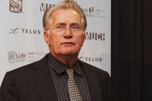 Martin Sheen... (Photo Michelle Siu, Archives PC)