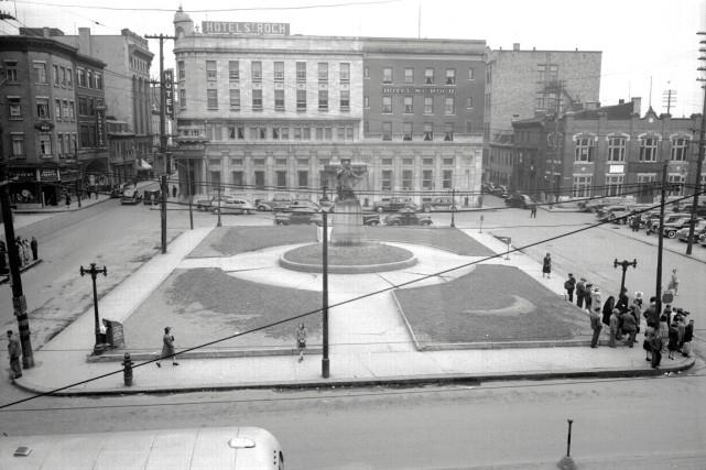 Le 17 juin 1943... (Photo archives de la Ville de Québec (numéro de négatif N001682))