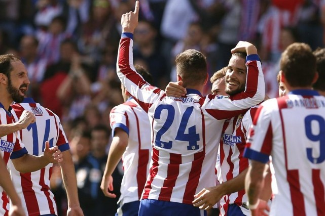 Mario Suarez a marqué le deuxième but de... (PHOTO JUAN MEDINA, REUTERS)