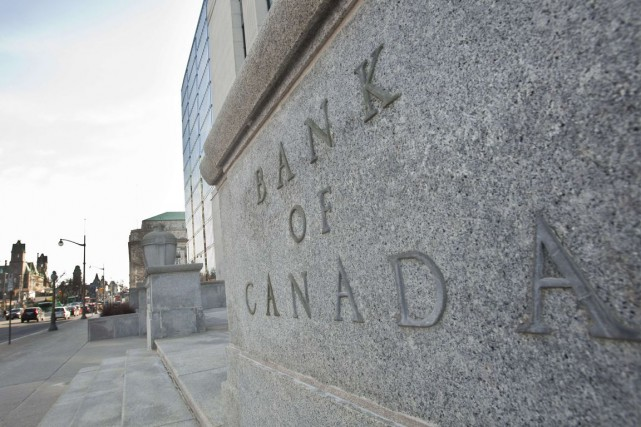 Au début septembre, la Banque du Canada avait... (PHOTO GEOFF ROBINS, ARCHIVES AFP)