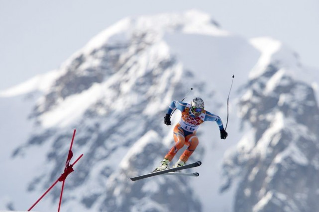Le skieur norvégien Aksel Lund Svindal s'est déchiré... (Photo Jonathan Hayward, archives PC)
