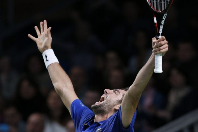 Marin Cilic... (PHOTO GRIGORY DUKOR, REUTERS)