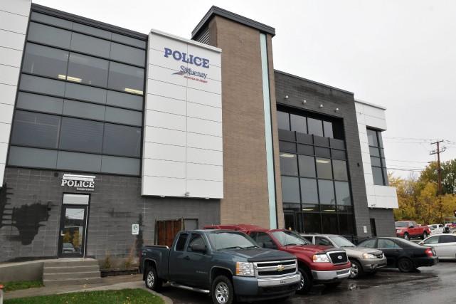 Le nouveau poste de police du centre-ville de... ((Photo Rocket Lavoie))