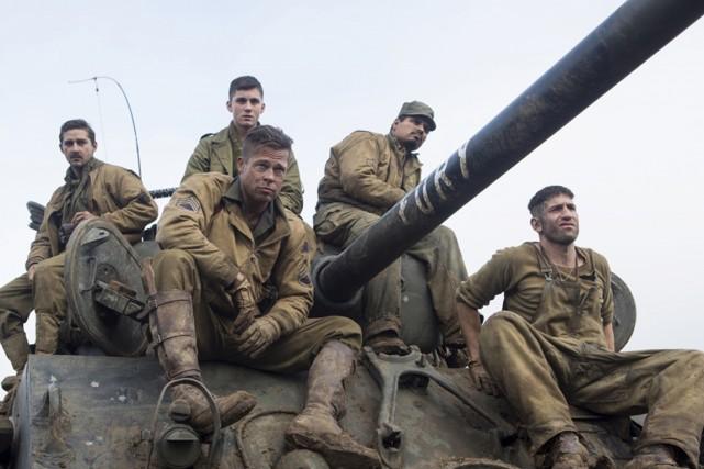 Fury, le nouveau film avec Brad Pitt, plongée gore dans l'horreur de...