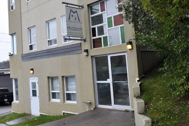 La Maison d'accueil pour sans-abri de Chicoutimi fait... ((Photo Rocket Lavoie))
