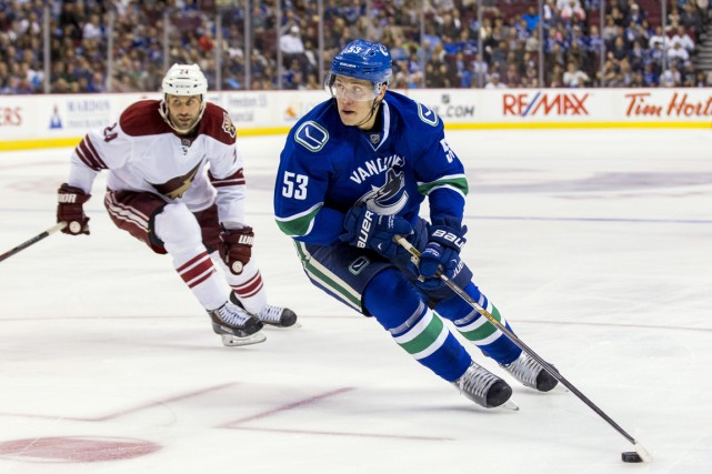Bo Horvat... (Photo Bob Frid, USA TODAY Sports)