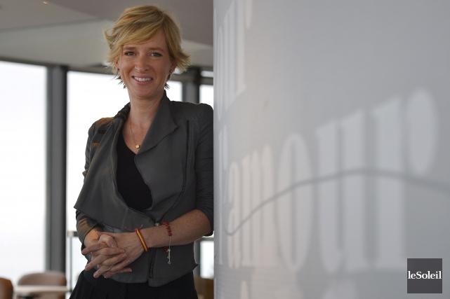 Katrine Beaudry, de la firme LemayMichaud, a supervisé... (Le Soleil, Yan Doublet)