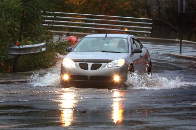 Quelque 48 millimètres de pluie ont été enregistrés... (Photo Paul Daly, PC)