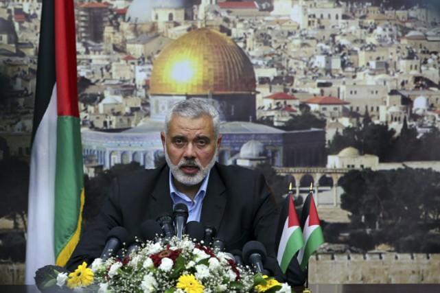 Ismaïl Haniyeh... (Archives AP)