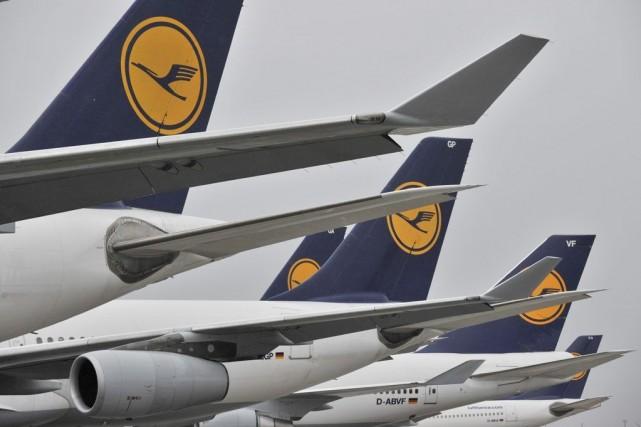 Le syndicat allemand de pilotes Cockpit a annoncé dimanche un nouvel arrêt de... (Photo: AP)