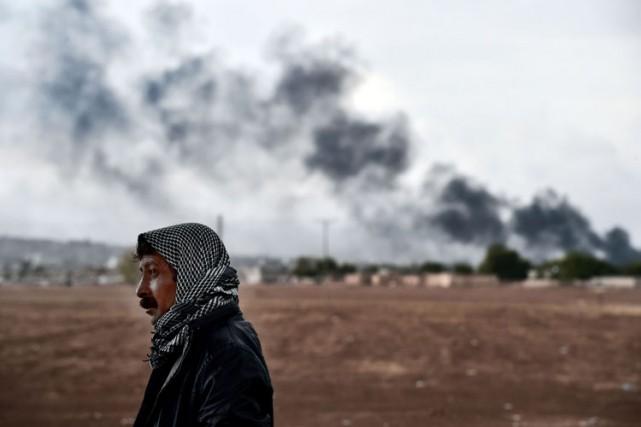 Jusqu'à présent, les forces américaines ont mené plus... (Photo Archives AFP)