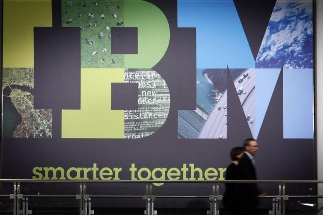 IBM a confirmé lundi qu'il allait payer 1,5 milliard de dollars au spécialiste... (Photo: Focke Strangmann, AP)