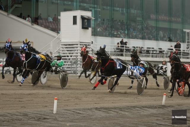 La saison des courses de chevaux s'est terminée dimanche à l'Hippodrome 3R avec... (Photo: François Gervais, Le Nouvelliste)