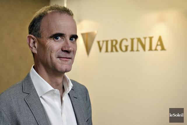 André Gaumond, PDG de Mines Virginia.... (Photo Patrice Laroche, archives Le Soleil)