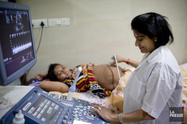 Pour recruter une mère porteuse en Inde, il... (PHOTO DAVID BOILY, LA PRESSE)