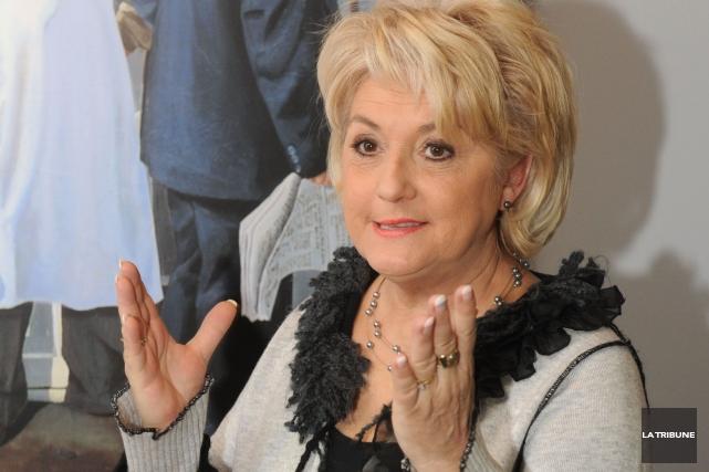 Diane Délisle... (Archives La Tribune, Maxime Picard)