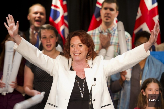 La députée Lisa MacLeod entend miser sur son... (Martin Roy, LeDroit)