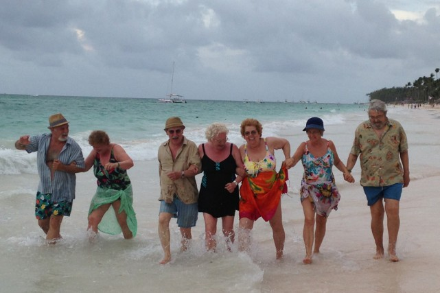 Les détestables à Punta Cana.... (Photo: fournie par V)