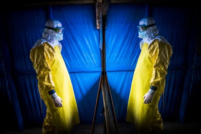 L'épidémie, qui a fait plus de 4500 morts,... (PHOTO DANIEL BEREHULAK, ARCHIVES THE NEW YORK TIMES)