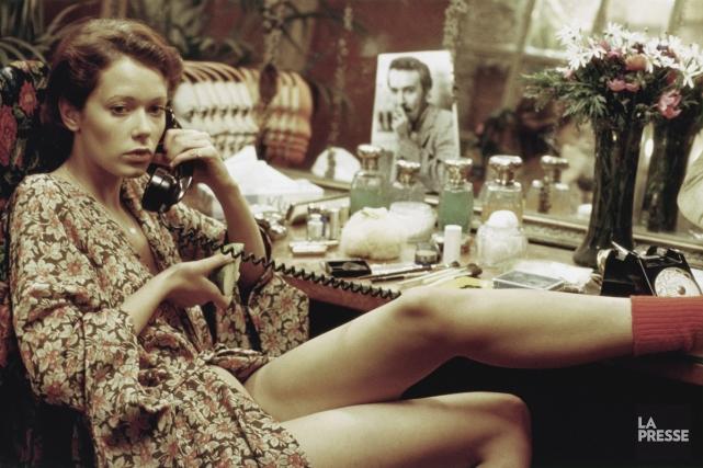 La comédienne Sylvia Kristel, qui personnifiait Emmanuelle.... (Photo: archives La Presse)