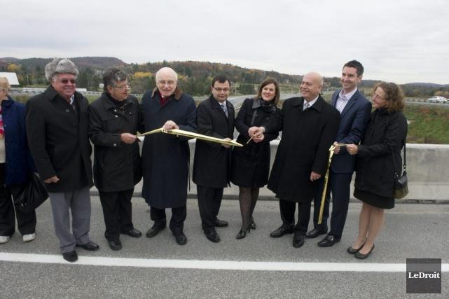 De nombreux élus ont participé à l'inauguration d'un... (Martin Roy, LeDroit)