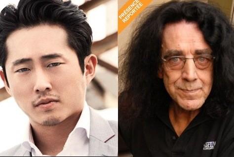 Steven Yeun et Peter Mayhew...