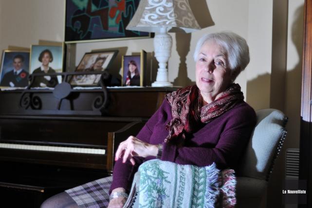 Lise Bergeron... (Photo: Émilie O'Connor, Le Nouvelliste)