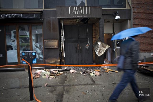 Cet incendie criminel était au moins le deuxième... (Photo Patrick Sanfaçon, Archives La Presse)
