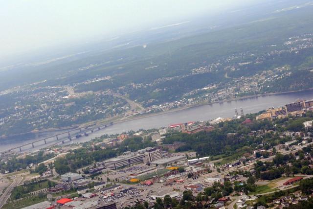 Saguenay est dans le carré d'as des villes... ((Archives))