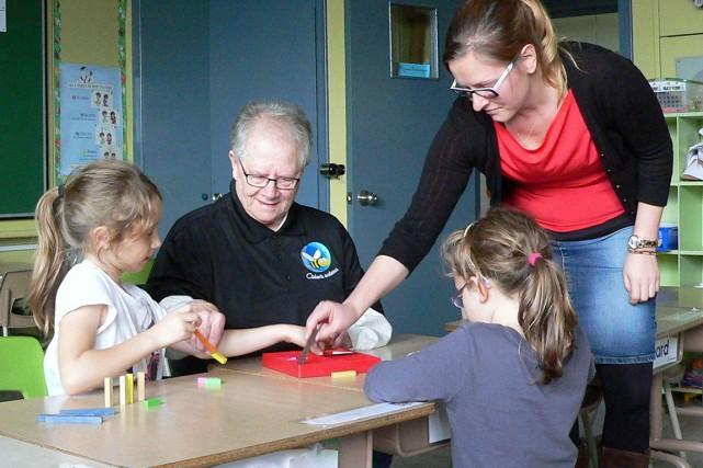 L'enseignante Anne-Marie Nadeau a pris sa retraite en 1994.... (Photo Claude Grégoire, fournie par Les Aidants scolaires)