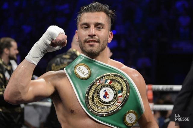David Lemieux... (Photo: Bernard Brault, La Presse)