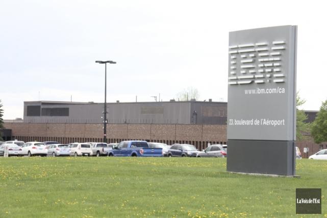La compagnie IBM a précisé, hier, que la... (photo archives La Voix de l'Est)