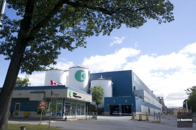 Les 275 travailleurs de l'usine Kruger-Wayagamack déclencheront mercredi... (Photo d'archives: Stéphane Lessard, Le Nouvelliste)