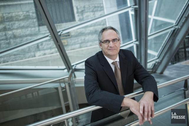Éric Tétrault, président de Manufacturiers et exportateurs du... (PHOTO EDOUARD PLANTE-FRÉCHETTE, LA PRESSE)