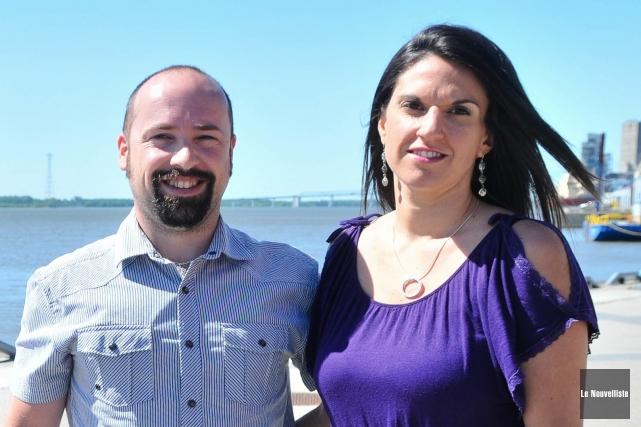 Joël Lapierre et Julie Joseph-Lapierre se sont envolés... (Photo: Émilie O'Connor, Le Nouvelliste)