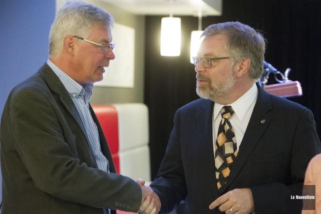 Le directeur du Cégep de Trois-Rivières, Raymond-Robert Tremblay... (Photo: Stéphane Lessard, Le Nouvelliste)