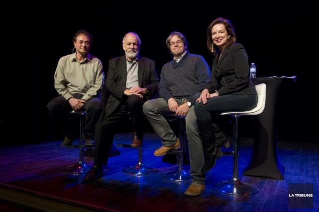 L'avenir de Radio-Canada et des médias régionaux était... (Imacom, Julien Chamberland)