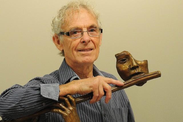 L'artiste sculpteur-peintre-portraitiste Jean-Marie Laberge de Chicoutimi... (Rocket Lavoie)