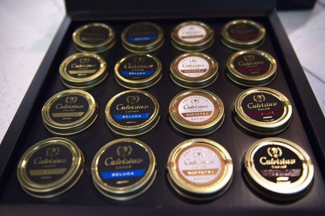 Pour Stefano Bottoli, le caviar Made in Italy... (PHOTO MARTIN BUREAU, AFP)