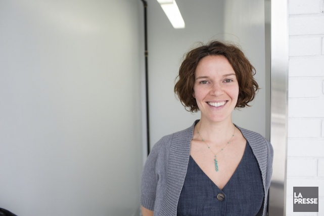 Christine Renaud, présidente et fondatrice de E-180.... (PHOTO OLIVIER PONTBRIAND, LA PRESSE)
