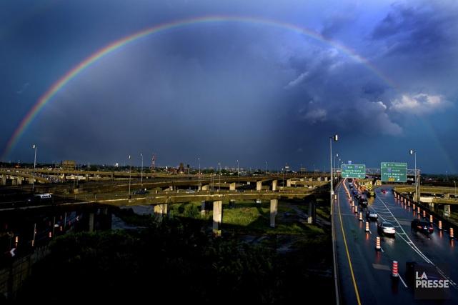 Soleil? Pluie? Les deux? Les prévisions de la... (Photo François Roy, La Presse)